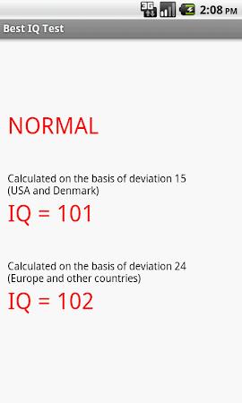 Best IQ Test 2.2 screenshot 639778