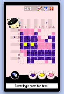 Hungry Cat Picross - screenshot thumbnail