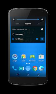 Neon Blue - CM12.1 Theme v1.0.3