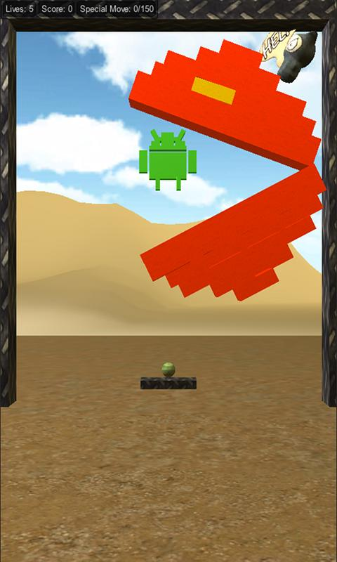 Crazy Bricks 3D- screenshot