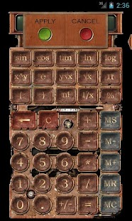 Steampunk Calculator HD - screenshot thumbnail