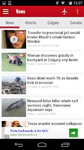 Calgary SUN+- screenshot thumbnail