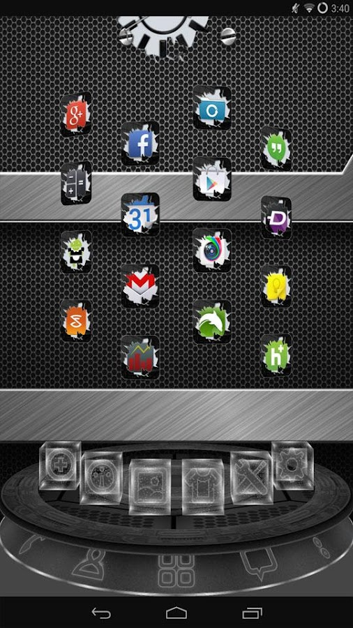 Breakout Black Multi Theme- screenshot