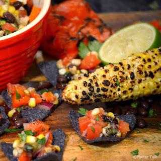Grilled Corn and Black Bean Salsa.