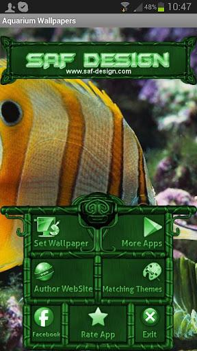 玩個人化App|Aquarium GO Launcher EX Theme免費|APP試玩
