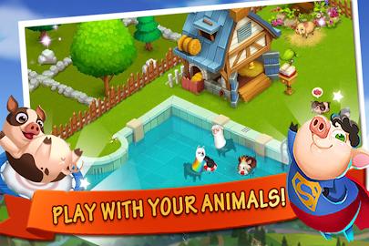 Happy Farm:Candy Day Screenshot 1