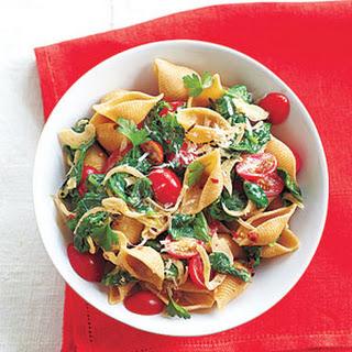 spinach tomato pasta shells myrecipes whole wheat pasta shells butter ...
