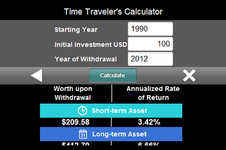 Time Traveler's Calculator - screenshot thumbnail