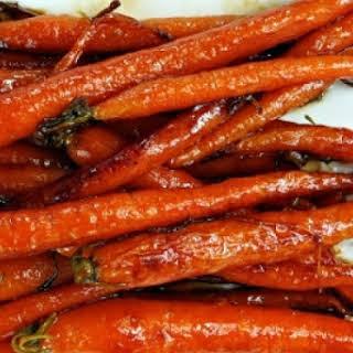 Maple-Glazed Carrots.