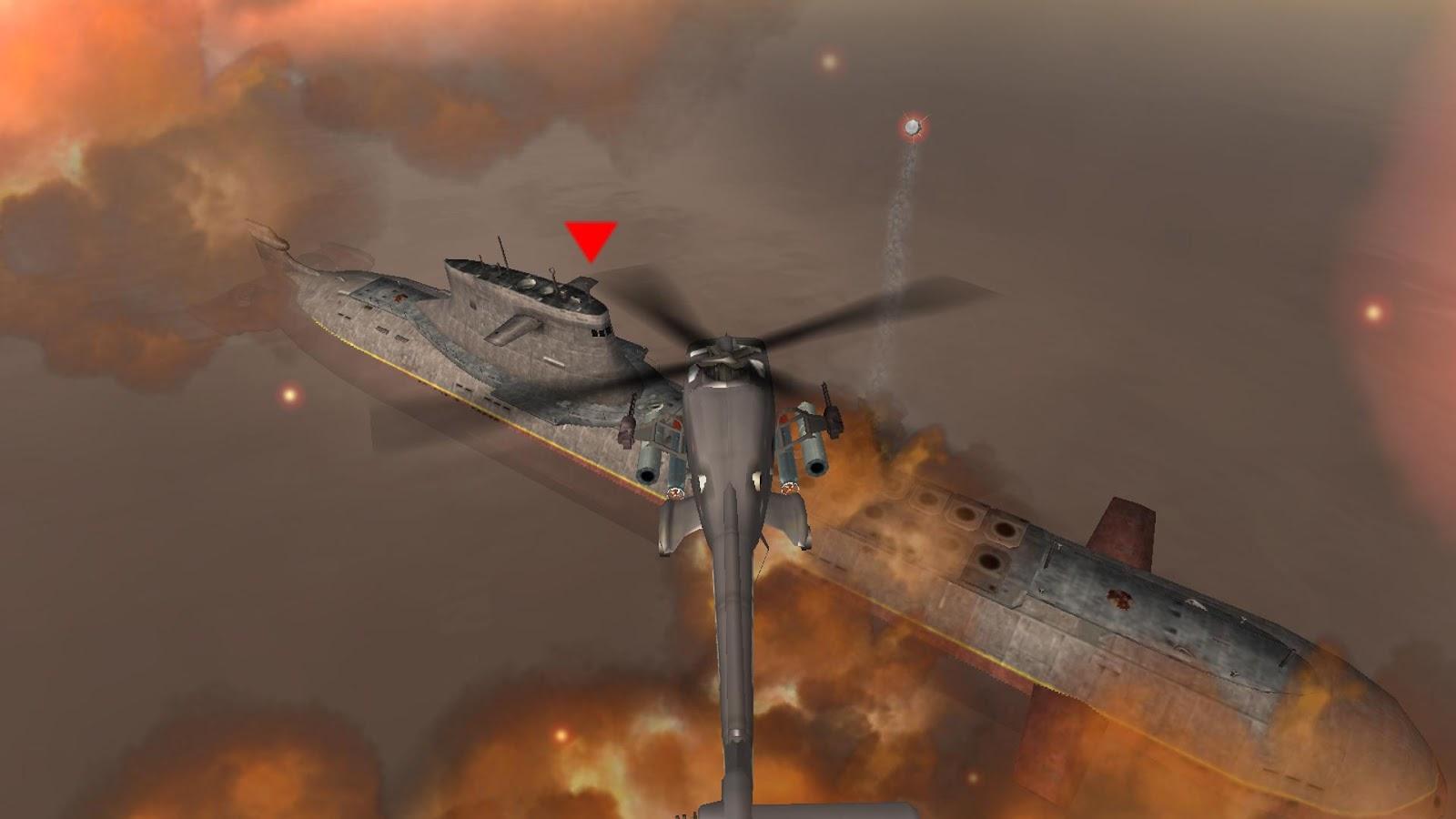 GUNSHIP BATTLE : Helicopter 3D - screenshot