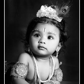 Little Krishna by Sabhee Jai - Babies & Children Child Portraits ( krishna )