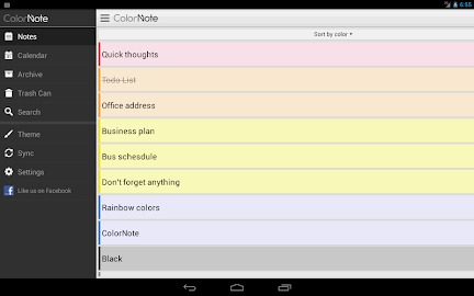 ColorNote Notepad Notes Screenshot 14