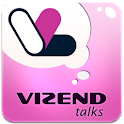 Vizend Talks logo