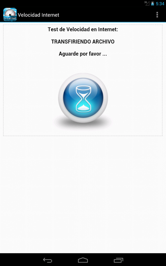 Test de Velocidad de Internet- screenshot