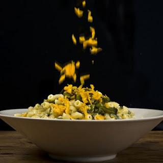 Green Chile-Cheddar Macaroni Salad.