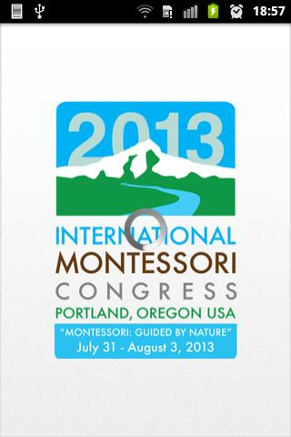 2013 Int. Montessori Congress