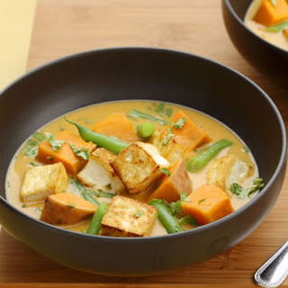 Red Curry with Vegetables.