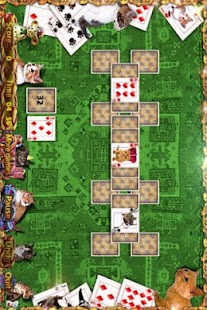 Kitty Tripeaks Solitaire Game