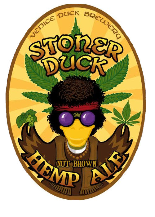 Logo of Stoner Duck Brown Hemp Ale