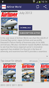 Airliner World Magazine    Varies with device   screenshot