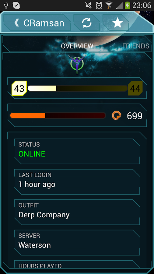 Auraxis Control Center - screenshot