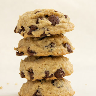 Oatmeal Peanut Butter Chocolate Chip Cookies.