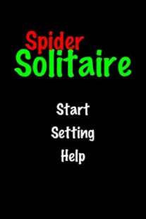 Spider Solitaire!- screenshot thumbnail