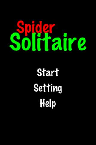 Spider Solitaire!- screenshot