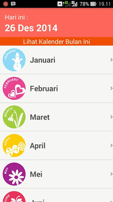 Kalender Indonesia - screenshot