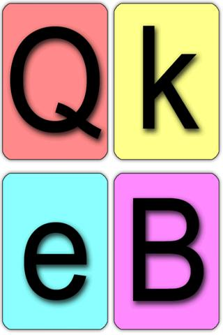Learning Letters for Kids- screenshot