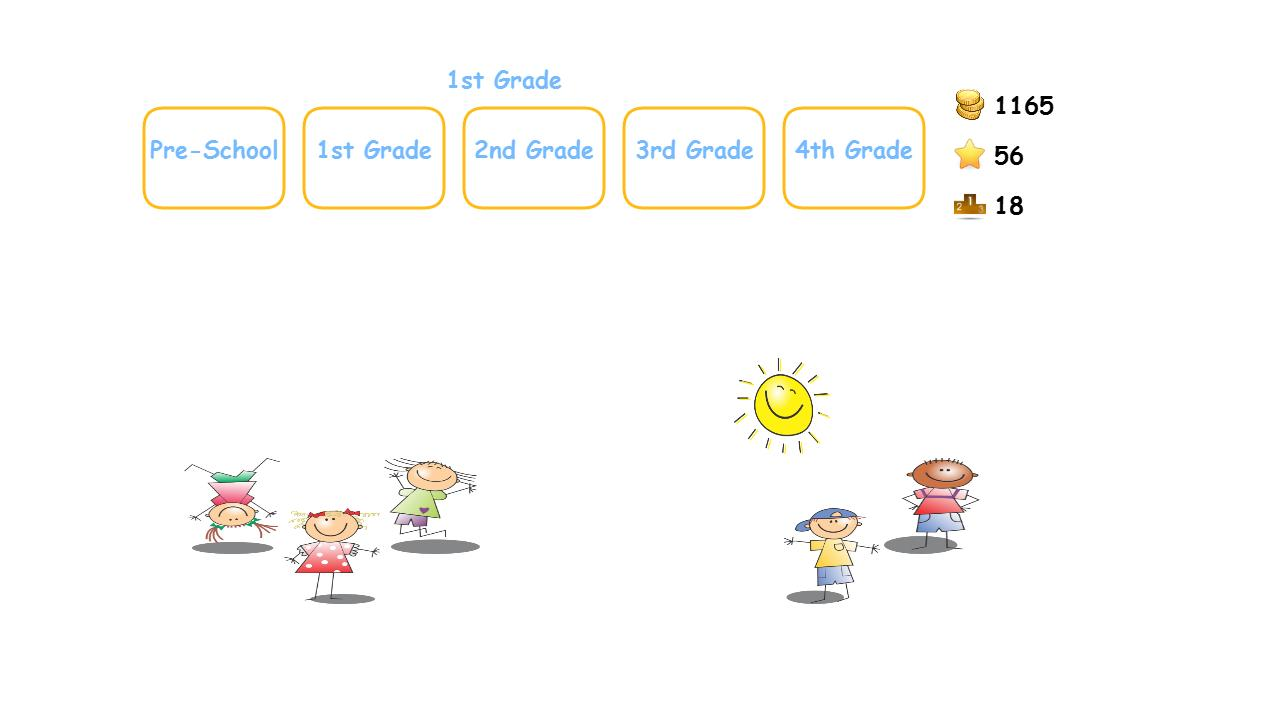 Cool Fun Math Kids Game puzzle - screenshot