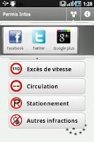 Screenshot of Permis Infos