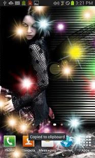 Dark Emo Fairy Live Wallpaper