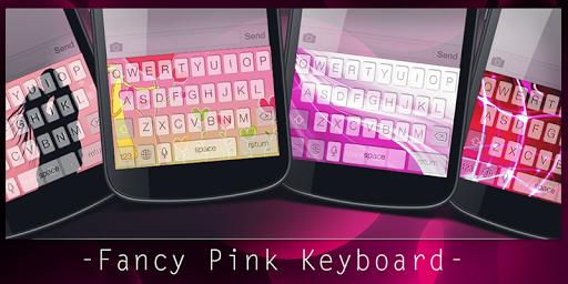 Fancy Pink Keyboard Emoji