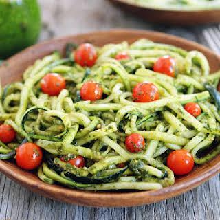 Zucchini Noodles.