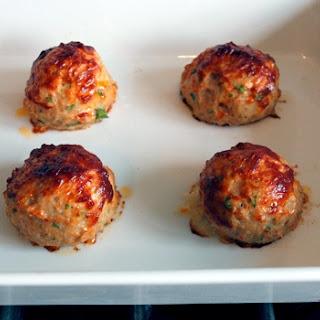 Chicken Meatballs with Tomato-Balsamic Glaze.