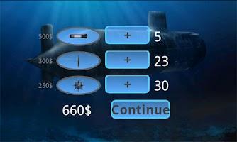 Screenshot of Submarine Attack! Arcade