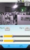 Screenshot of IP Camera Control for Apexis