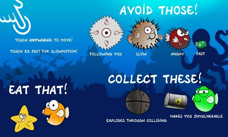 Avoiding - NOW: Benny Blowfish- screenshot