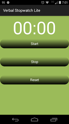 Verbal Stopwatch Lite