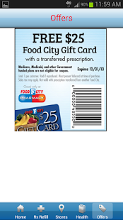 Food City Pharmacy Mobile App - screenshot thumbnail