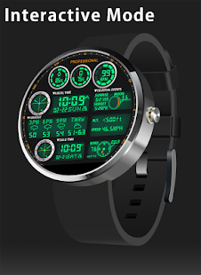F05 WatchFace for Moto 360- screenshot thumbnail