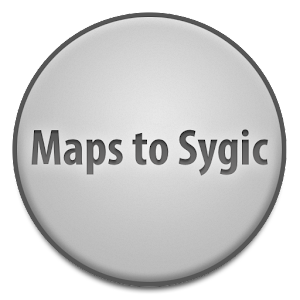 ANDROID Maps to Sygic up to v 9 0