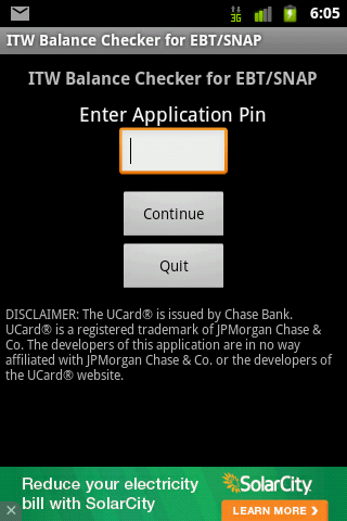 Balance 4 SNAP And EBT Screenshot