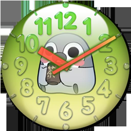 ぺそぎんアナログ時計ウィジェット・人気の放置育成ゲーム無料 休閒 App LOGO-硬是要APP