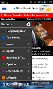 Abilene Reporter-News - screenshot thumbnail