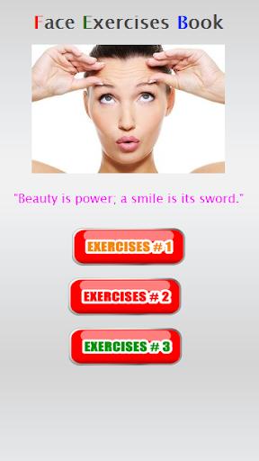Face Exercise Book