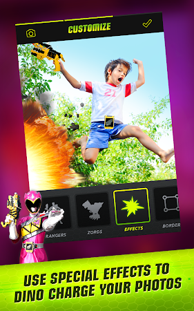 Power Rangers Dino Charge Scan 1.4.6 screenshot 446419