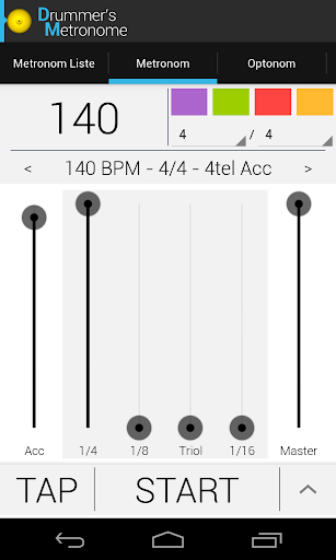 Drummer's Metronome