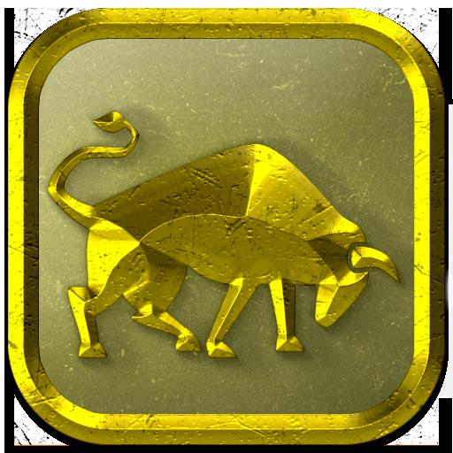 Gold Taurus Keyboard LOGO-APP點子